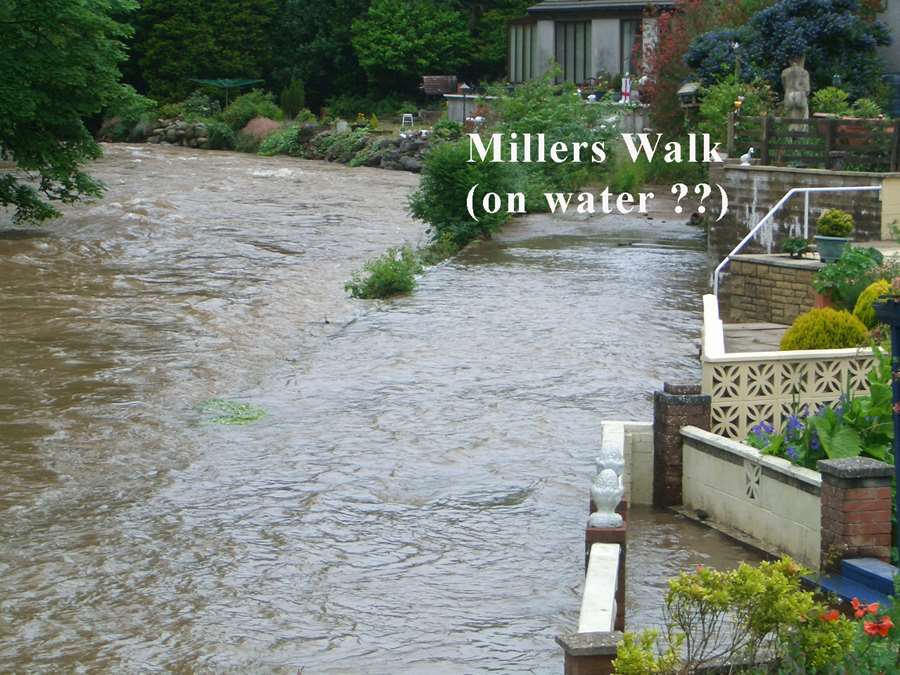 Millers walk(on water)