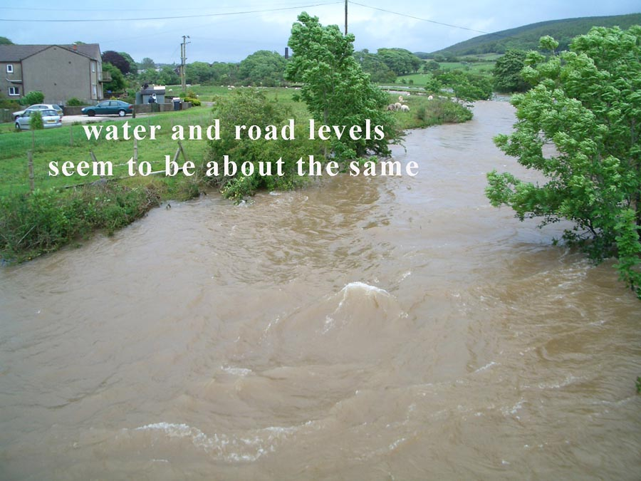 water road levels